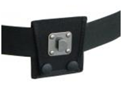 Belt with swivel clip